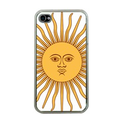 Argentina Sun of May  Apple iPhone 4 Case (Clear)