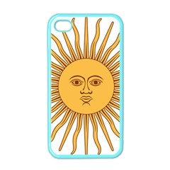 Argentina Sun of May  Apple iPhone 4 Case (Color)