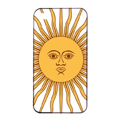 Argentina Sun of May  Apple iPhone 4/4s Seamless Case (Black)