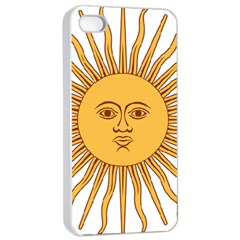 Argentina Sun of May  Apple iPhone 4/4s Seamless Case (White)
