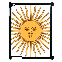 Argentina Sun of May  Apple iPad 2 Case (Black)