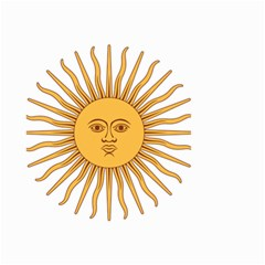 Argentina Sun of May  Small Garden Flag (Two Sides)