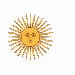 Argentina Sun of May  Large Garden Flag (Two Sides)