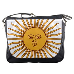 Argentina Sun of May  Messenger Bags
