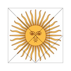 Argentina Sun of May  Acrylic Tangram Puzzle (6  x 6 )