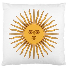 Argentina Sun of May  Large Cushion Case (One Side)