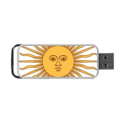 Argentina Sun of May  Portable USB Flash (One Side)