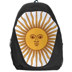 Argentina Sun of May  Backpack Bag