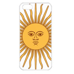 Argentina Sun of May  Apple iPhone 5 Seamless Case (White)