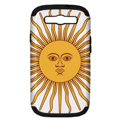 Argentina Sun of May  Samsung Galaxy S III Hardshell Case (PC+Silicone)