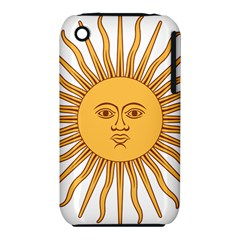 Argentina Sun of May  Apple iPhone 3G/3GS Hardshell Case (PC+Silicone)