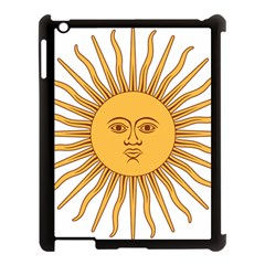 Argentina Sun of May  Apple iPad 3/4 Case (Black)