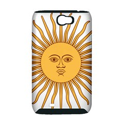 Argentina Sun of May  Samsung Galaxy Note 2 Hardshell Case (PC+Silicone)