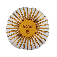 Argentina Sun of May  Standard 15  Premium Round Cushions