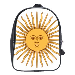 Argentina Sun of May  School Bags (XL)