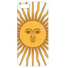Argentina Sun of May  Apple iPhone 5 Hardshell Case with Stand