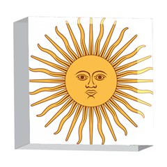 Argentina Sun of May  5  x 5  Acrylic Photo Blocks