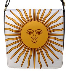 Argentina Sun of May  Flap Messenger Bag (S)