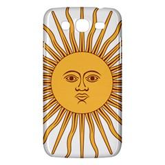 Argentina Sun of May  Samsung Galaxy Mega 5.8 I9152 Hardshell Case