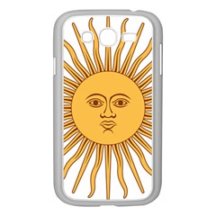 Argentina Sun of May  Samsung Galaxy Grand DUOS I9082 Case (White)