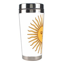 Argentina Sun of May  Stainless Steel Travel Tumblers