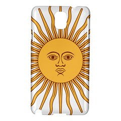 Argentina Sun of May  Samsung Galaxy Note 3 N9005 Hardshell Case