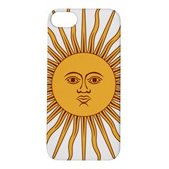 Argentina Sun of May  Apple iPhone 5S/ SE Hardshell Case