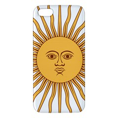 Argentina Sun of May  iPhone 5S/ SE Premium Hardshell Case