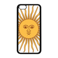Argentina Sun of May  Apple iPhone 5C Seamless Case (Black)
