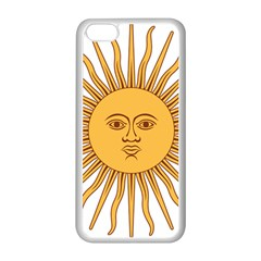 Argentina Sun of May  Apple iPhone 5C Seamless Case (White)