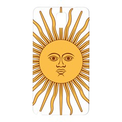 Argentina Sun of May  Samsung Galaxy Note 3 N9005 Hardshell Back Case