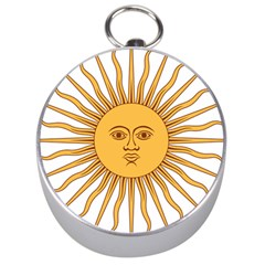 Argentina Sun of May  Silver Compasses