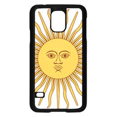 Argentina Sun of May  Samsung Galaxy S5 Case (Black)