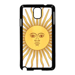Argentina Sun of May  Samsung Galaxy Note 3 Neo Hardshell Case (Black)