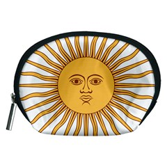 Argentina Sun of May  Accessory Pouches (Medium)