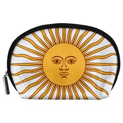 Argentina Sun of May  Accessory Pouches (Large)