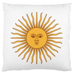 Argentina Sun of May  Standard Flano Cushion Case (Two Sides)