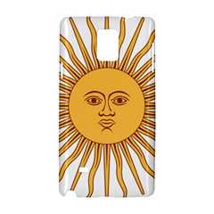 Argentina Sun of May  Samsung Galaxy Note 4 Hardshell Case