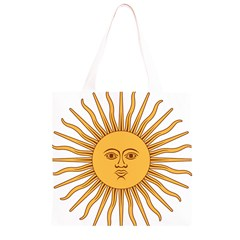 Argentina Sun of May  Grocery Light Tote Bag