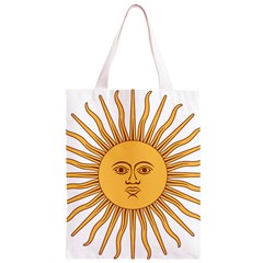 Argentina Sun of May  Classic Light Tote Bag