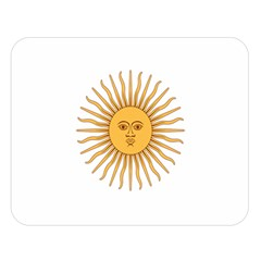 Argentina Sun of May  Double Sided Flano Blanket (Large)