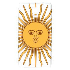 Argentina Sun of May  Galaxy Note 4 Back Case
