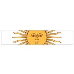 Argentina Sun of May  Flano Scarf (Small)