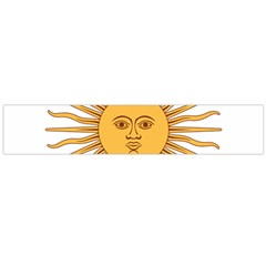 Argentina Sun of May  Flano Scarf (Large)