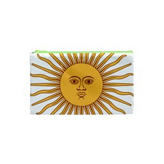 Argentina Sun of May  Cosmetic Bag (XS)