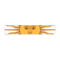 Argentina Sun of May  Flano Scarf (Mini)