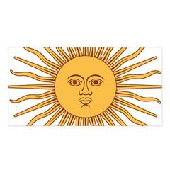 Argentina Sun of May  Satin Shawl