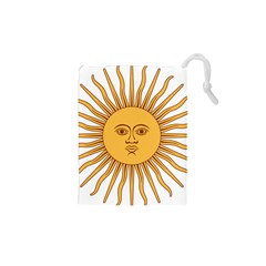 Argentina Sun of May  Drawstring Pouches (XS)