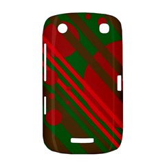 Red and green abstract design BlackBerry Curve 9380