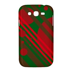 Red and green abstract design Samsung Galaxy Grand DUOS I9082 Hardshell Case